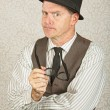 Strict Businessman — Stockfoto