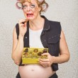Depressed Pregnant Woman — Stock Photo