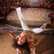 Постер, плакат: Capoeira Performers Doing Throws