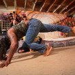 Pair of Capoeira Artists — Stock Photo
