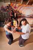 Capoeira Instructor Teaching — Foto de Stock