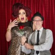 Foto Stock: MGives Drag Queen Rose