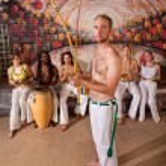 European Capoeira Musician — Stock Photo