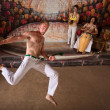 Capoeira Martial Arts and Music — 图库照片