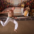 Capoeira Martial Arts and Music — Stockfoto
