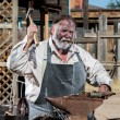 Old West Blacksmith — Stock Photo