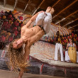 Agile Capoeira Expert — Stock Photo