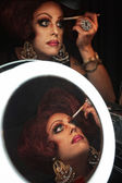 Man in Drag with Makeup — Stock Photo