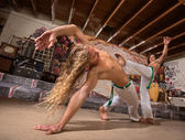 Male Capoeira Performers — Stock Photo