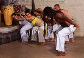 Capoeira Teacher Leading Group — Foto de Stock