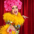 Foto de Stock  : Happy Drag Queen