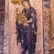 Jesus and Mary Mosaic in Chora Church — Stock Photo
