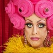 Foto Stock: Doubting Drag Queen