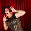 Frightened Min Drag — Stock Photo #37376327