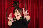 Drag Queen Reaching Out — Stock Photo