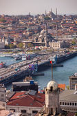 Galata Bridge in Istanbul — Photo