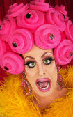 Drag queen crier — Photo