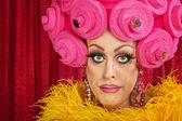 Doubting Drag Queen — Stock Photo