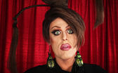 Spaced Out Drag Queen — Stock Photo