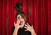 Scared Drag Queen — Stock Photo