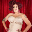 Stock Photo: Drag Queen in Girdle