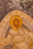 Jesus Mural in Chora Church — Stock Photo