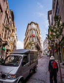 Busy Istanbul Neighborhood — Foto Stock