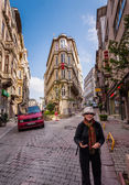 Tourist in Istanbul — Photo