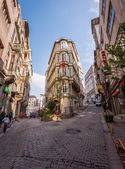 Busy Istanbul Neighborhood — Foto de Stock
