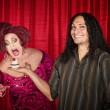 Mwith Hungry Drag Queen — Stok Fotoğraf #37857107