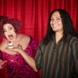 Foto Stock: Mwith Hungry Drag Queen