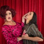 Man Harrassing a Transvestite — Stock Photo