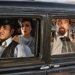 1920s ErGangsters Drive By — Stock Photo #39258125