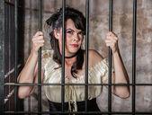 Portrait of Female Prisoner — Stock Photo