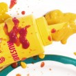 Mustard Mess — Stock Photo #39438755