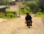 Motorbike near Monteverde — Stock Photo