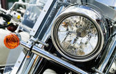 Detail of motorcycles. — Stock Photo