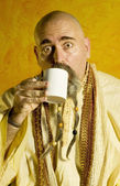 Funny Guru — Stock Photo