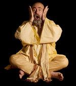 Funny Guru — Стоковое фото