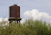 Rusty Water Tower — 图库照片
