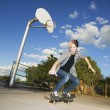 Teenage Skateboarder — Stock Photo