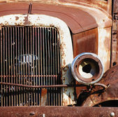 Headlight on a Vintage Car — Stock fotografie