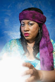 Gypsy Fortune Teller — Photo