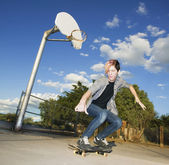 Teenage Skateboarder — Photo