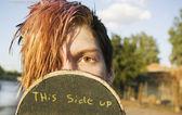 Teenage Skateboarder — Stock Photo