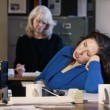 Stock Photo: Office Nap