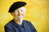 Artist with a Beret — Foto Stock