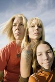 Rock and Roll Family — Stock Photo