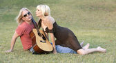Rock and Roll Couple — Foto Stock