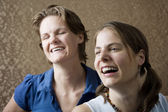 Women Laughing — Stock Photo